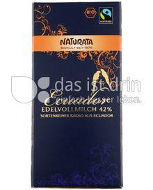 Produktabbildung: Naturata Schokolade Edelvollmilch Ecuador 42% 100 g