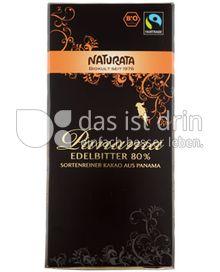 Produktabbildung: Naturata Schokolade Edelbitter Panama 80% 100 g