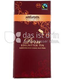 Produktabbildung: Naturata Schokolade Edelbitter Peru 75% 100 g