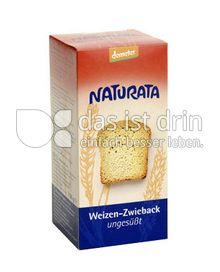 Produktabbildung: Naturata Weizen-Zwieback, ungesüßt 150 g