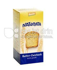 Produktabbildung: Naturata Butter-Zwieback, leicht gesüßt 150 g