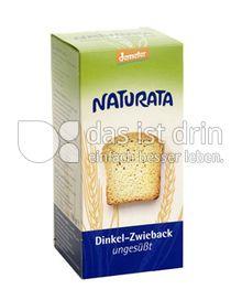 Produktabbildung: Naturata Dinkel-Zwieback, ungesüßt 150 g