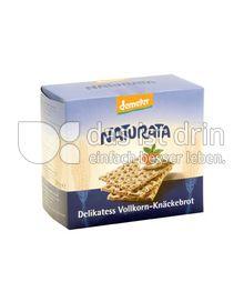Produktabbildung: Naturata Delikatess-Vollkorn-Knäckebrot 250 g