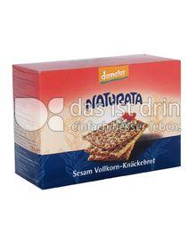 Produktabbildung: Naturata Sesam-Vollkorn-Knäckebrot 250 g