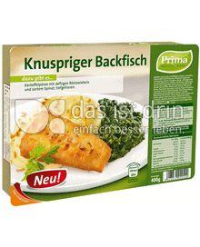 Produktabbildung: Prima Menü Knuspriger Backfisch 400 g