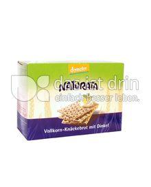Produktabbildung: Naturata Vollkorn-Knäckebrot mit Dinkel 250 g