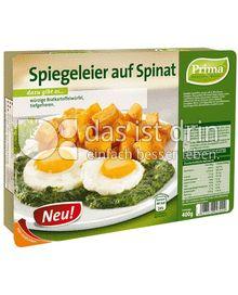 Produktabbildung: Prima Menü Spiegeleier auf Spinat 400 g