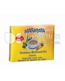 Produktabbildung: Naturata Gemüse Brühwürfel Classic 72 g