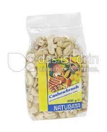 Produktabbildung: Naturata Cashewbruch, groß 200 g