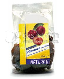Produktabbildung: Naturata Pflaumen ohne Stein 250 g