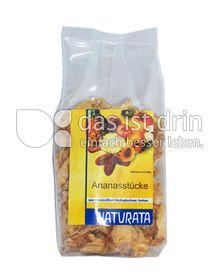 Produktabbildung: Naturata Ananasstücke getrocknet 100 g