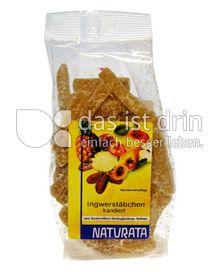 Produktabbildung: Naturata Ingwerstäbchen kandiert 75 g