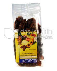 Produktabbildung: Naturata Cranberries getrocknet und gesüßt 100 g