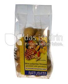 Produktabbildung: Naturata Macadamianüsse geröstet und gesalzen 75 g