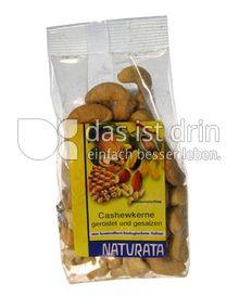 Produktabbildung: Naturata Cashewkerne geröstet und gesalzen 100 g