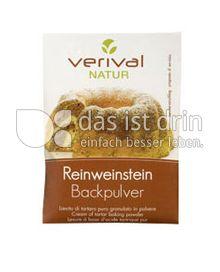 Produktabbildung: Verival Reinweinstein Backpulver 18 g