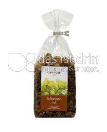 Produktabbildung: Verival Sultaninen hell 250 g