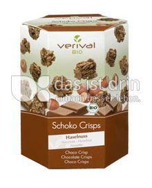 Produktabbildung: Verival Schoko Crisps Haselnuss 125 g