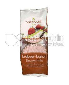Produktabbildung: Verival Erdbeer Joghurt Reiswaffeln 100 g