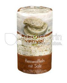Produktabbildung: Verival Reiswaffeln mit Salz 100 g