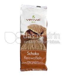 Produktabbildung: Verival Schoko Reiswaffeln 100 g