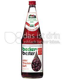 Produktabbildung: beckers bester roter Traubensaft 1 l
