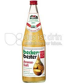 Produktabbildung: beckers bester Ananassaft 1 l