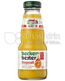 Produktabbildung: beckers bester Orangensaft 0,2 l