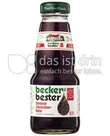 Produktabbildung: beckers bester schwarzer Johannisbeer-Nektar 0,2 l