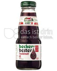 Produktabbildung: beckers bester Traubensaft rot 0,2 l