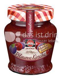 Produktabbildung: Schwartau extra Pflaume-Kirsche 330 g