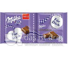 Produktabbildung: Milka Alpenmilch Für Mich - Für Dich 80 g