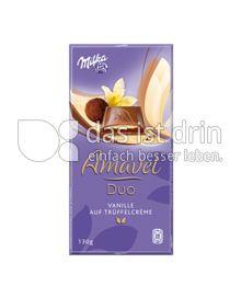 Produktabbildung: Milka Amavel Duo Vanille auf Trüffelcrème 130 g
