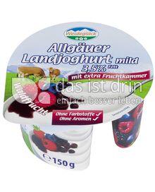Produktabbildung: Weideglück Allgäuer Landjoghurt mild Waldfrucht 150 g