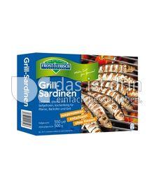 Produktabbildung: Frost & Frisch Convenience Grill-Sardinen 550 g