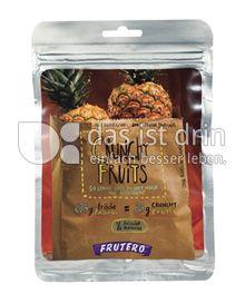 Produktabbildung: FRUTERO Crunchy Fruits Ananas 25 g