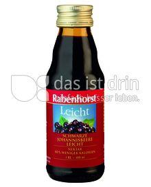 Produktabbildung: Rabenhorst Schwarzer-Johannisbeer-Nektar leicht Mini 125 ml