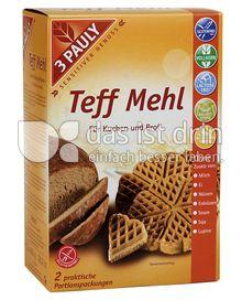 Produktabbildung: 3 PAULY Teff Mehl 800 g