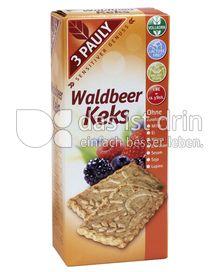 Produktabbildung: 3 PAULY Vollkorn Waldbeer Keks 150 g