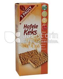 Produktabbildung: 3 PAULY Vollkorn Hafele Keks 150 g