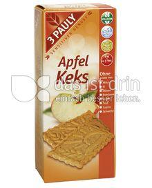 Produktabbildung: 3 PAULY Vollkorn Apfel Keks 150 g