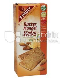 Produktabbildung: 3 PAULY Vollkorn Butter Mandel Keks 150 g