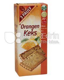 Produktabbildung: 3 PAULY Vollkorn Orangen Keks 150 g