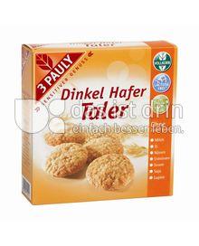 Produktabbildung: 3 PAULY Dinkel Hafer Taler 125 g