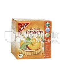 Produktabbildung: 3 PAULY Bio Vollkorn Dinkel Torteletts 150 g
