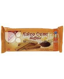 Produktabbildung: 3 PAULY Kakao Creme Waffeln 125 g