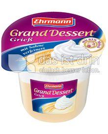 Produktabbildung: Ehrmann Grand Dessert Grieß 200 g