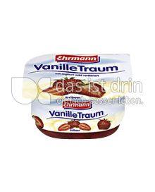 Produktabbildung: Ehrmann VanilleTraum Erdbeer 125 g