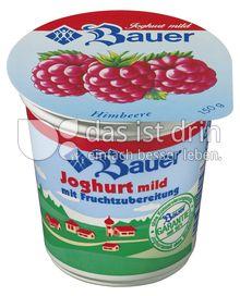 Produktabbildung: Bauer Fruchtjoghurt Himbeere 150 g