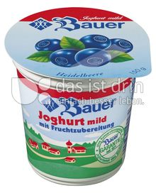 Produktabbildung: Bauer Fruchtjoghurt Heidelbeere 150 g